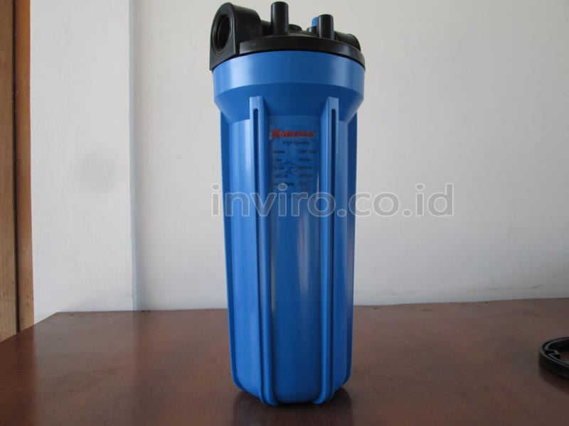 "Housing Filter Ukuran 10"" Warna Biru (Merk Nano)"