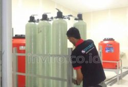 Pemasangan Alat Mesin RO dan Water Treatment PT Kymmoshi Global Sukoharjo