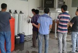 Pemasangan WTP Water Treatment Plant Sistem Demin Demineralisasi PT Promanufacture Indonesia